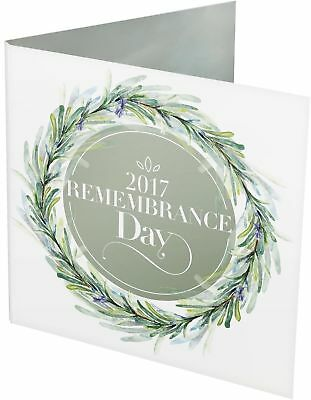 2017 $2 Remembrance Day C Mintmark Coloured Unc Carded Coin