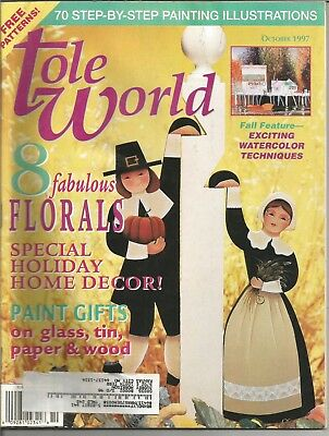 Tole World Magazine for Decorative Painting - October 1997 - Issue 148