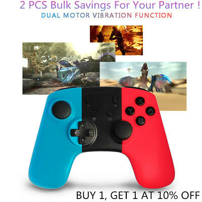 2x Wireless Pro Controller Joypad Gamepad Remote for Nintendo Switch Console N