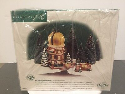 """""""mint"""" Dept 56 *the Old Royal Observatory* #58453 Dickens Village / Retired Mib"""