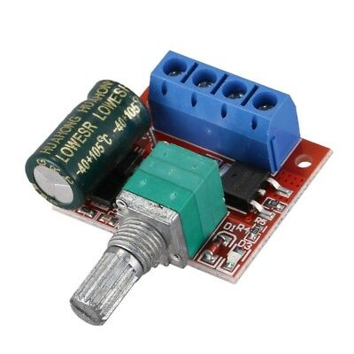 2X(DC5-35V 5A PWM DC Motor Speed Controller LED Dimmer 10 Khz (Confezione M5W6