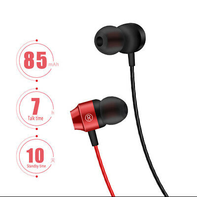 Sport Magnetic Suction Wireless Bluetooth V41 Earphone with Mic Headphone New