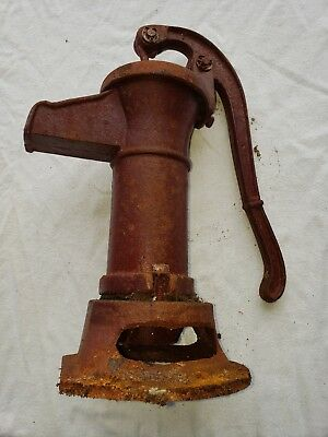 Antique Cast Iron Hand Well Water Pump