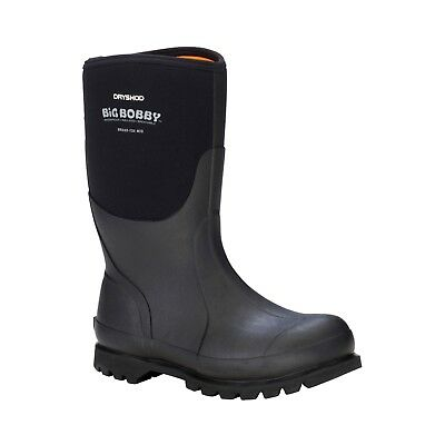 Dryshod Mens Big Bobby MID Insulated Rubber Work Size 10 Boots Size Muck Style