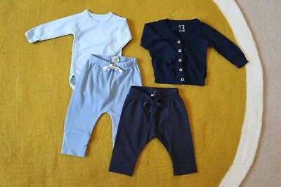 Nature Baby & Petit Bateau Baby Clothes Bundle - Size 000 (0-3 Month)