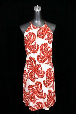 0956fc33b82 NEW womens blood orange american dream print ANTONIO MELANI nilliona dress  L 12
