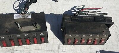Whelen Switches Set Of 2 Special Security