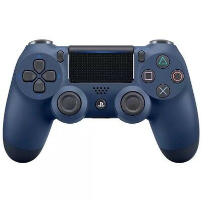 Official PlayStation 4 PS4 Dualshock 4 Wireless Controller ( Midnight blue ) NEW