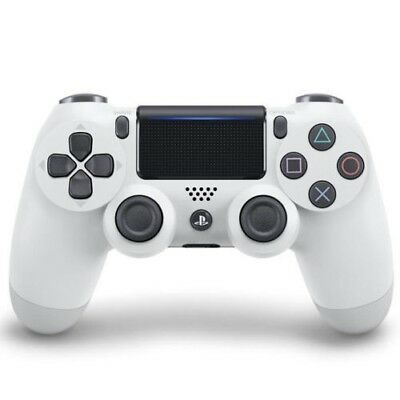 Official PlayStation 4 PS4 Dualshock 4 Wireless Controller ( White ) NEW
