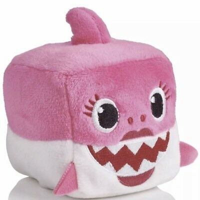 WowWee Pinkfong Baby Shark Official Song Cube - Mommy Shark -Pink (English) NEW
