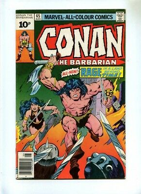 Conan the Barbarian #65 - Marvel 1976 - FN- - Pence