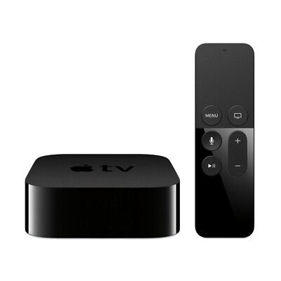 Apple Tv 4. Generation 32GB A8 HDMI Wlan Nero Siri Telecomando Remoto