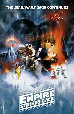STAR WARS KRIEG Der Sterne Filmposter The Empire Strikes Back #3