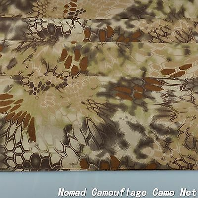 """Highlander Camouflage Cotton Blend Army Military 60""""W Fabric Cloth for uniform"""