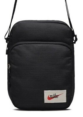Nike Heritage Mini Bag Man bag Organizer Small Items Sports Shoulder Bag  Black e151fc021c0b1