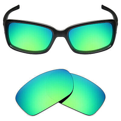 99c13732502 Mryok Anti-Scratch Polarized Replacement Lens for-Oakley Dispute Sunglass  Green