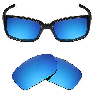 e47555e6caa Mryok Anti-Scratch Polarized Replacement Lens for-Oakley Dispute Sunglass  Blue