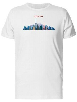 City Of Tokyo Illustration Men's Tee -Image by Shutterstock
