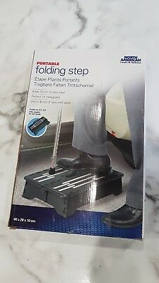 Portable Folding  Step Non Slip Disability Mobility Aid Doorway Car Strong