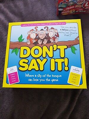 Don't Say It! The Board Game - Perfect Condition