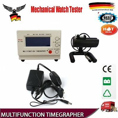 Mechanical Watch Tester Timegrapher Watch Timing Machine Tester Repair Tools PT
