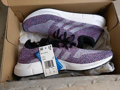 6429e2c35 NEW Adidas Swift Run PK Primeknit Multicolor Men Sneaker Lifestyle CQ2896  SZ 9.5