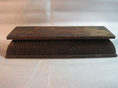 Base from Antique Kitchen Parlor Clock Old Part