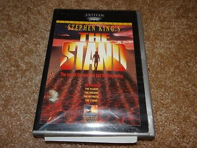 Stephen King's THE STAND (Rare OOP Special Edition 2 Disc DVD Set, 1999) Sealed