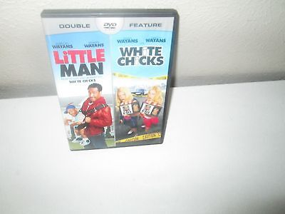 LOT OF 2 WAYANS BROTHERS Comedies rare dvd LITTLE MAN / WHITE CHICKS NEW