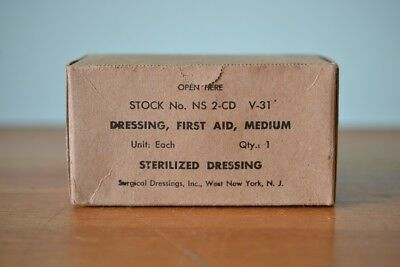 Vintage First Aid Medium Dressing bandage un opened