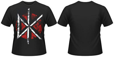 Dead Kennedys Distressed Dk Logo Large Mens T Shirt New Official