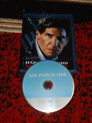 Blu-ray Air Force One New from 4k with custom cover!  NEVER WATCHED!