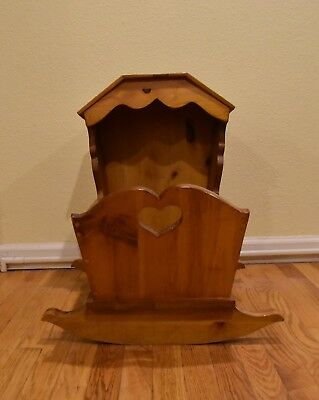 Wooden Doll Cradle - Extra large - Artisan Crafted