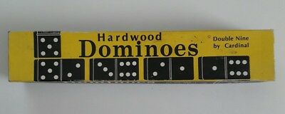 Hardwood Dominoes Double Nine by Cardinal No. 554