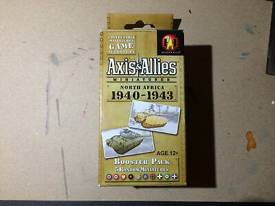 Axis & Allies North Africa 1940-1943 Booster Miniatures GAME
