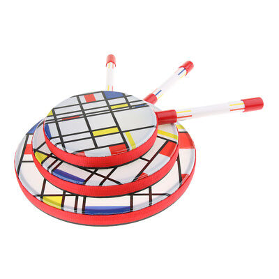 Hand Drum Handheld Percussion Baby Toddler Early Learning Toy Birthday Gift