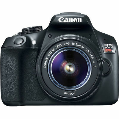 Canon EOS Rebel T6 DSLR Camera with 18-55mm II Lens