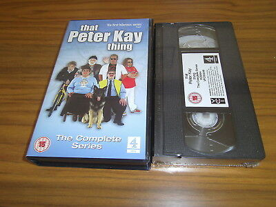 That Peter Kay Thing - The Complete Series - 3 Hours -  Vhs - **new**