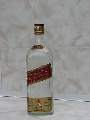 Large Bottle Johnnie walker 2.25l liter scotch whisky Red label used rare
