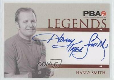 2008 Rittenhouse PBA Legends Autographs #N/A Harry Smith Auto Bowling Card