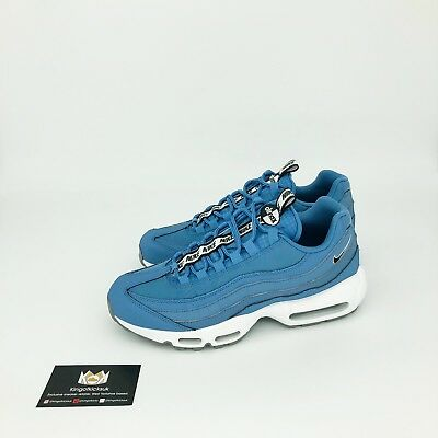 fdf2349a70 NIKE AIR MAX 95 SE Mens Trainers Blue White UK 7 EUR 41 US 8 ...
