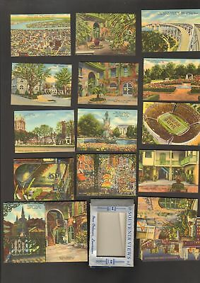 Undated Travel Souvenir Miniature 20 Views of New Orleans Louisiana LA