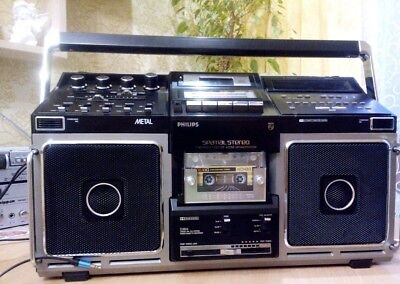 Philips D-8814 Stereo Boombox