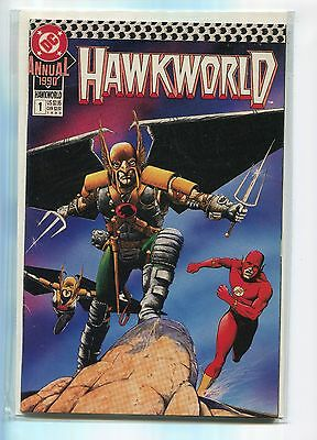 Hawkworld Annual #1 (1990, DC), VF/NM