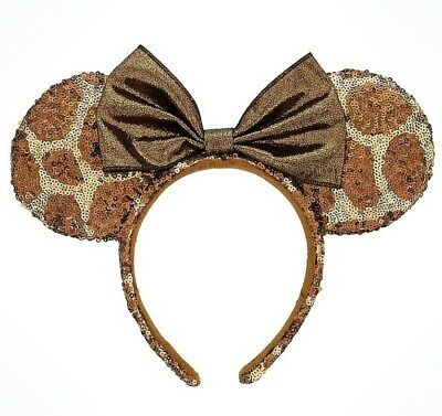 BRAND NEW Disney Parks Minnie Mouse Ear Headband - Giraffe Animal Kingdom