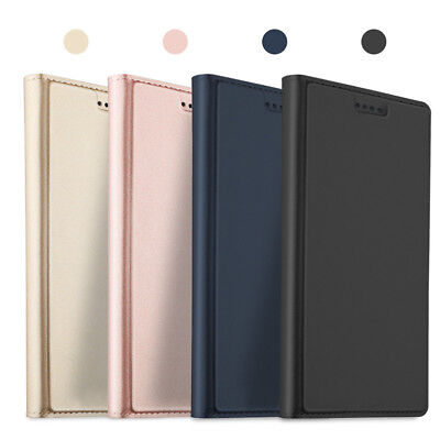 For Sony Xperia XA2 XA1 Plus Ultra Business PU Leather Case Flip Wallet Cover