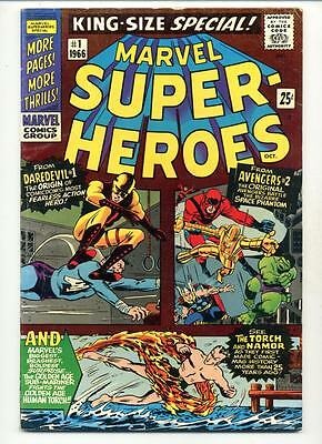 Marvel Super Heroes Special #1    Avengers     Daredevil    Torch   Sub-Mariner