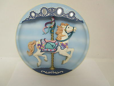 Classic Vintage Cool Rhodes Studios  Musical Carousel Horse Collectors Plate