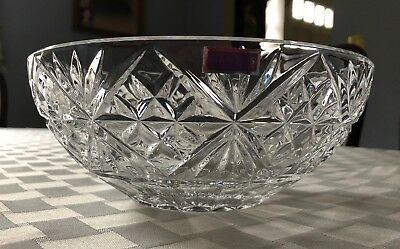 Marquis by Waterford Starburst Lead Crystal Bowl - NEW