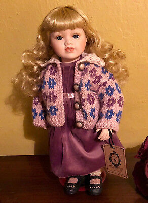 Boyds Bears The Yesterdays Child Doll Collection Elizabeth Going To Grandmas